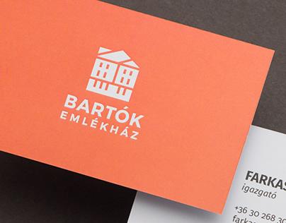 Bartók Memorial House | Branding