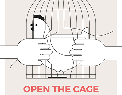 SUPPORT POSTERS FOR END THE CAGE AGE