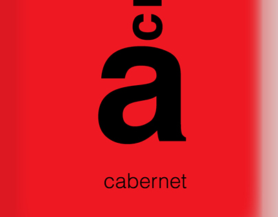 Etiqueta de vino Acràcia.