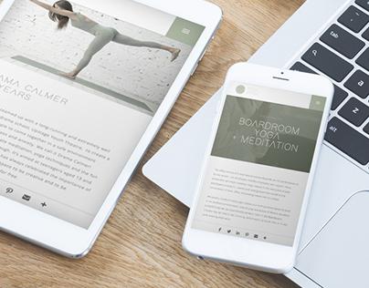 Yoga Brave Website Design & Development