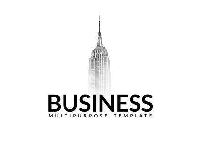Business Minimal Powerpoint Template - Free