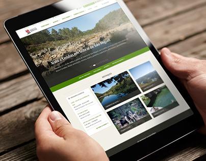 Aldeias do Xisto: Tourism Portal, Shop and Intranet