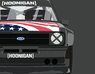 Ken Block's Ford Escort