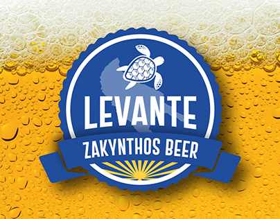 Corporate Design / Levante Beers Zakynthos