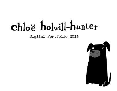 Chloë Holwill-Hunter digital portfolio 2016