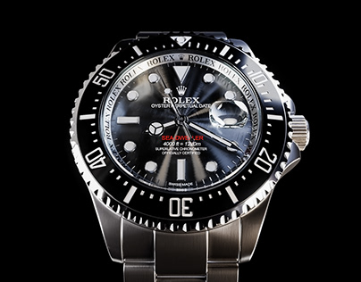 Rolex Sea Dweller CGI