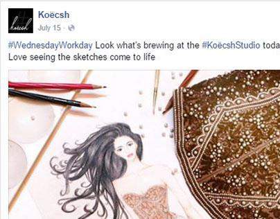 Creative Social Media at Koecsh