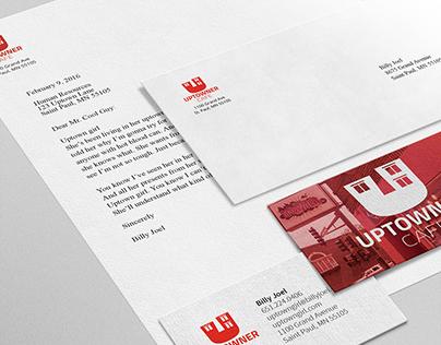 Uptowner Cafe: Rebranding Project