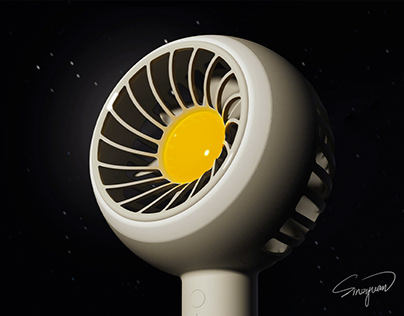PLANET丨Hand-held Fan
