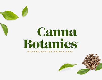 Canna Botanics Logo Design