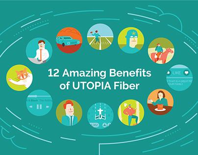 UTOPIA Fiber infographic