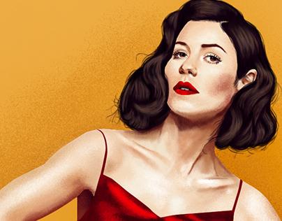 Ilustração Marina and the Diamonds