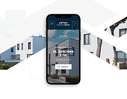 WESTA ESTATE - webdesign project