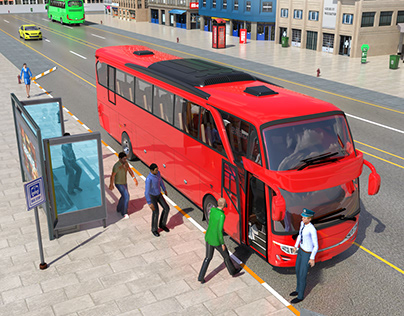 City Bus Pick anD Drop Games