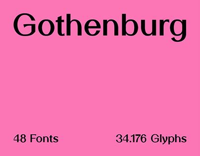 SK Gothenburg Typeface