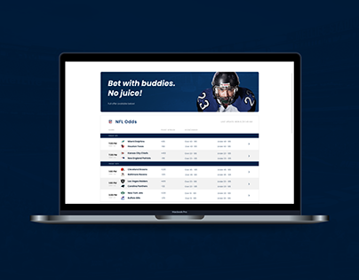 UX/UI Betfare, football betting exchange app