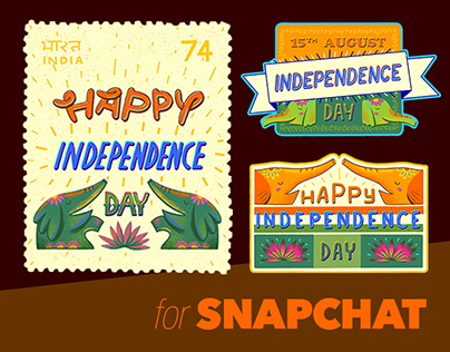 Snapchat - India's Independence Day 2020