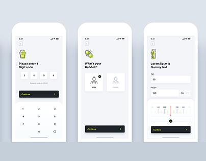 Fitness App - Concept Design