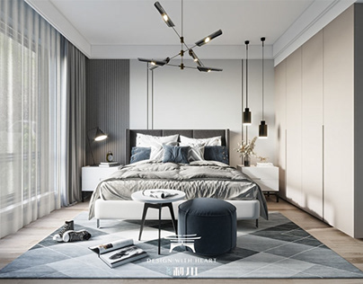 3D Interior Scenes File 3dsmax Model Bedroom 235