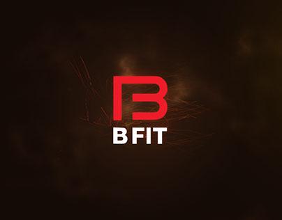 The BFIT Fitness branding.