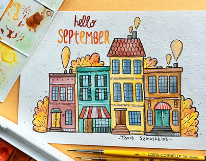 September illustrations