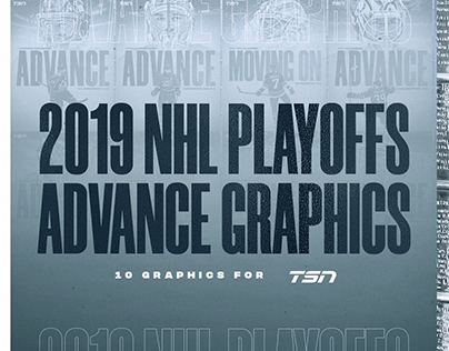 2019 NHL PLAYOFFS | 10 Graphics for TSN