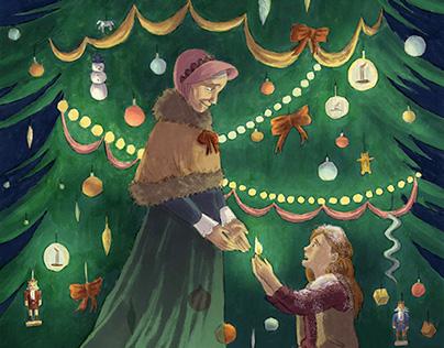 Hans Christian Andersen Fairytales Book