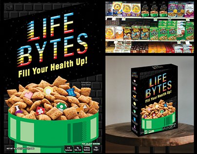 Life Bytes Cereal Concept