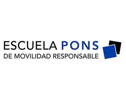 LOGO ESCUELA PONS DE MOVILIDAD PARA PONS SEGURIDAD VIAL