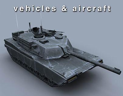 Vehicles & Aircraft 3D Models