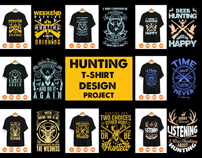Hunting T-shirt Design Project
