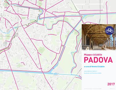 Padua Cycling Map