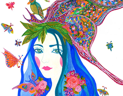 Butterfly Enchantress