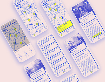 Out'N'About - Event Radar App Design