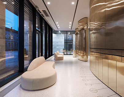 CVET32 apartment house in Moscow