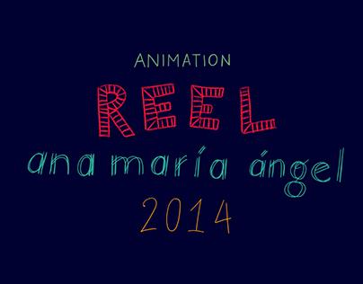 Animation Showreel 2014/15