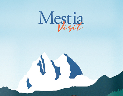 ILLUSTRATIVE POSTER | Visit Mestia