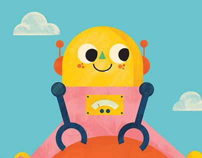 Children book 'Robo-Babies' by Laura Gallagher.