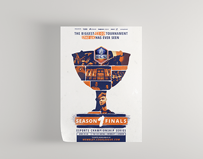 ECS S01 Finals - Poster (2016)