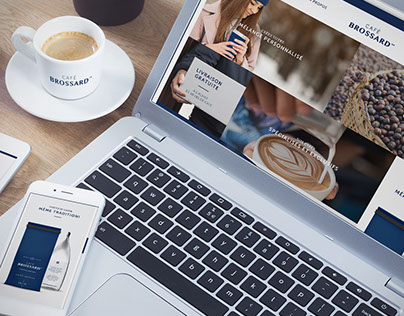 Café Brossard - Design web