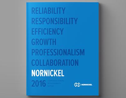 Nornickel CSR 2016