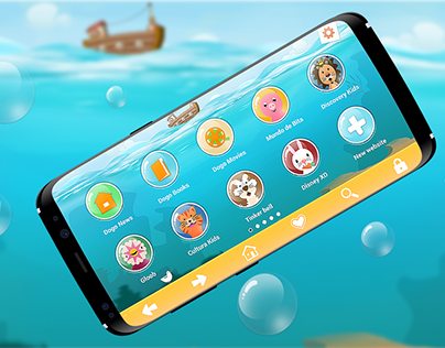 Samsung - Kids Browser App