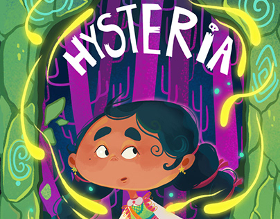 HYSTERIA| Card Game illustrations/character design