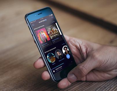 AlofokePlay Music App (Redesign)