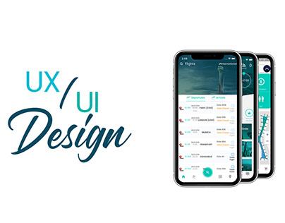 İstanbul Airport Mobile App Design