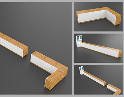 """3D """"Furniture Table"""" Project"""