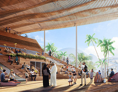Sweden's Expo 2020 Dubai pavilion proposal