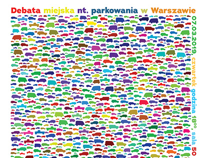 Debate about parking in Warsaw