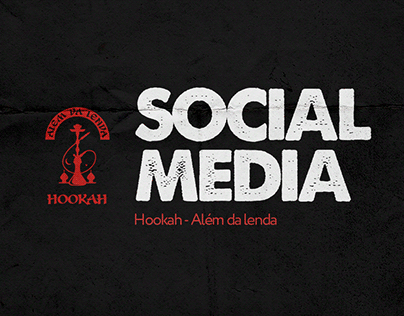 Social Media - Hookah Além da Lenda