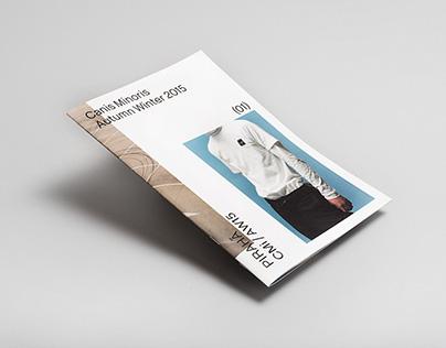 Canis Minoris AW15  LookBook / Pirahã